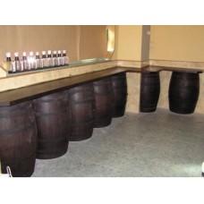 Barra madera barrica a medida