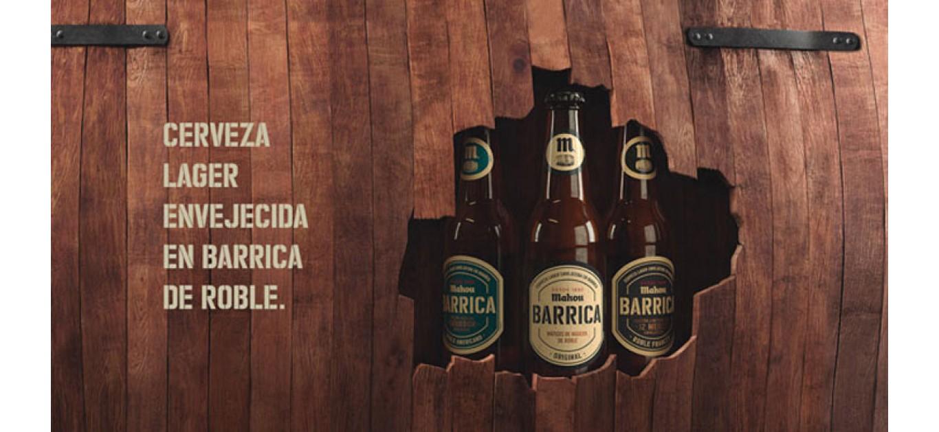 Mahou San Miguel instala una bodega de barricas de roble para el envejecimiento de la cerveza