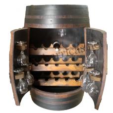 Botellero tonel barril