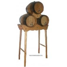 Piña 3 barriles 16 litros pie alto