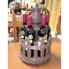 Prensa de vino decorativa